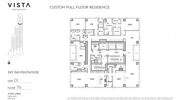 Vista Residences - Sky 360 Units