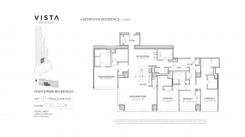 Vista Residences - Typical River & Park Residences 03.01.1914