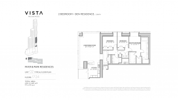 Vista Residences - Typical River & Park Residences 03.01.194