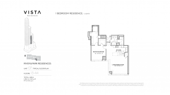 Vista Residences - Typical River & Park Residences 03.01.199